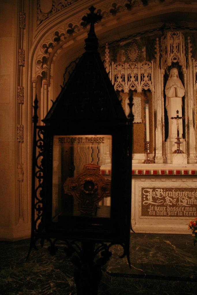 Relic in St. Patrick's Catherdrel in New York.